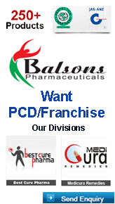 Balsons Pharma PCD Franchise Gurgaon Haryana