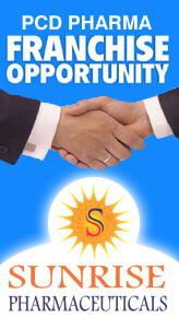 Sunrise Pharmaceuticals Top Franchise Company of Gujarat