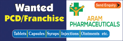 Aram Pharmaceuticals is a best pharma franchise in gujarat