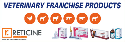 top veterinary products for franchise of Reticine Pharma